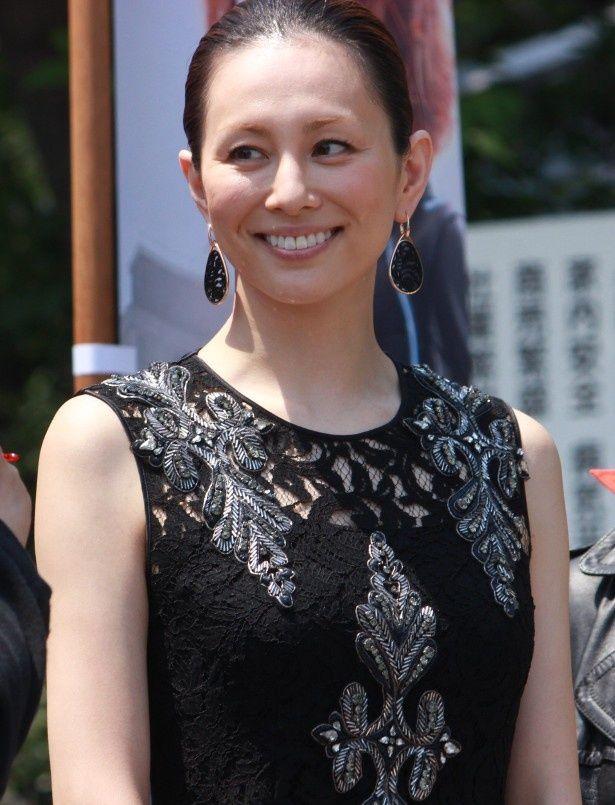 LAのプレミアに参加した感想を語った米倉涼子
