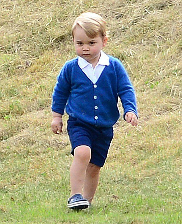 愛くるしいジョージ王子