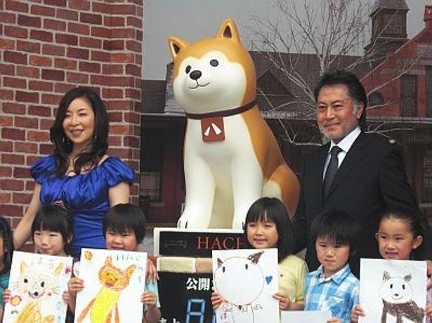 """""""お台場のハチ公""""誕生を盛大に祝う!"""