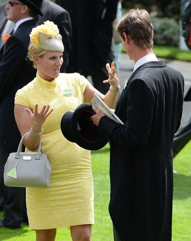 キャサリン妃と比較されてしまっているザラ・フィリップス