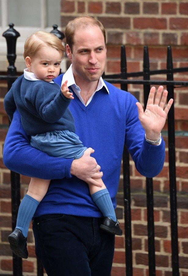 ウィリアム王子とブルーでおそろい