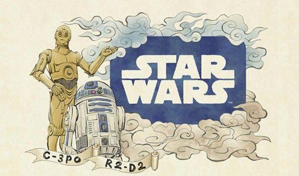 「スター・ウォーズ」のキャラクターたちが青森ねぶた祭に登場!C-3POとR2-D2が描かれた「ドロイドねぶた」