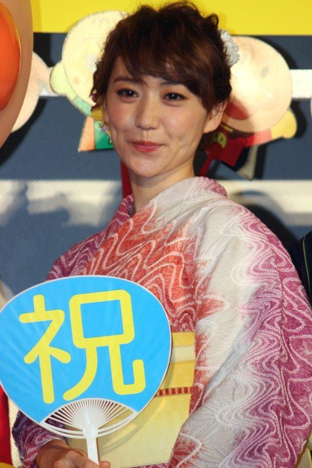 大島優子、推しメンのクリームパンダと初対面