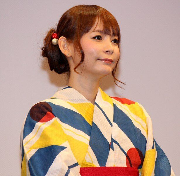 メアリの声を演じる中川翔子