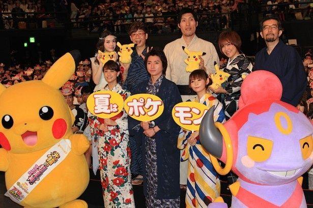 映画『ポケモン・ザ・ムービーXY 光輪(リング)の超魔神 フーパ』は7月18日(土)公開