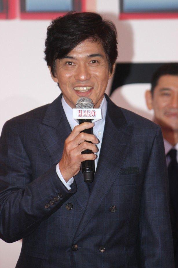 『HERO』で木村拓哉と共演した佐藤浩市