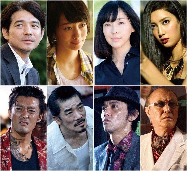 『グラスホッパー』の追加キャストが解禁!麻生久美子、波瑠、吉岡秀隆ら豪華俳優陣が集結した
