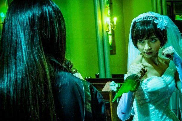 篠田麻里子演じるケイコは、アクションシーンに注目