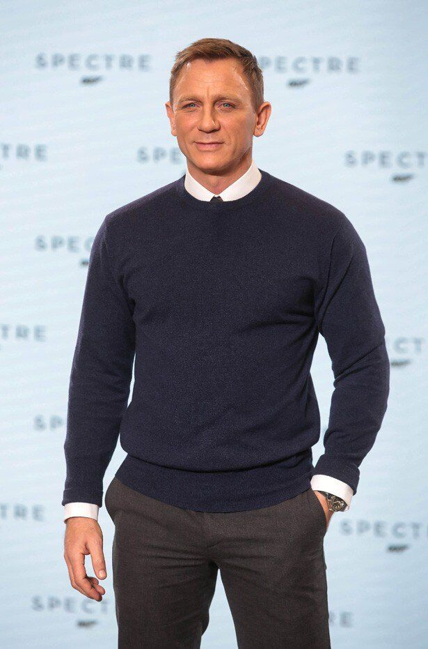 現007ことジェームズ・ボンド役のダニエル・クレイグ