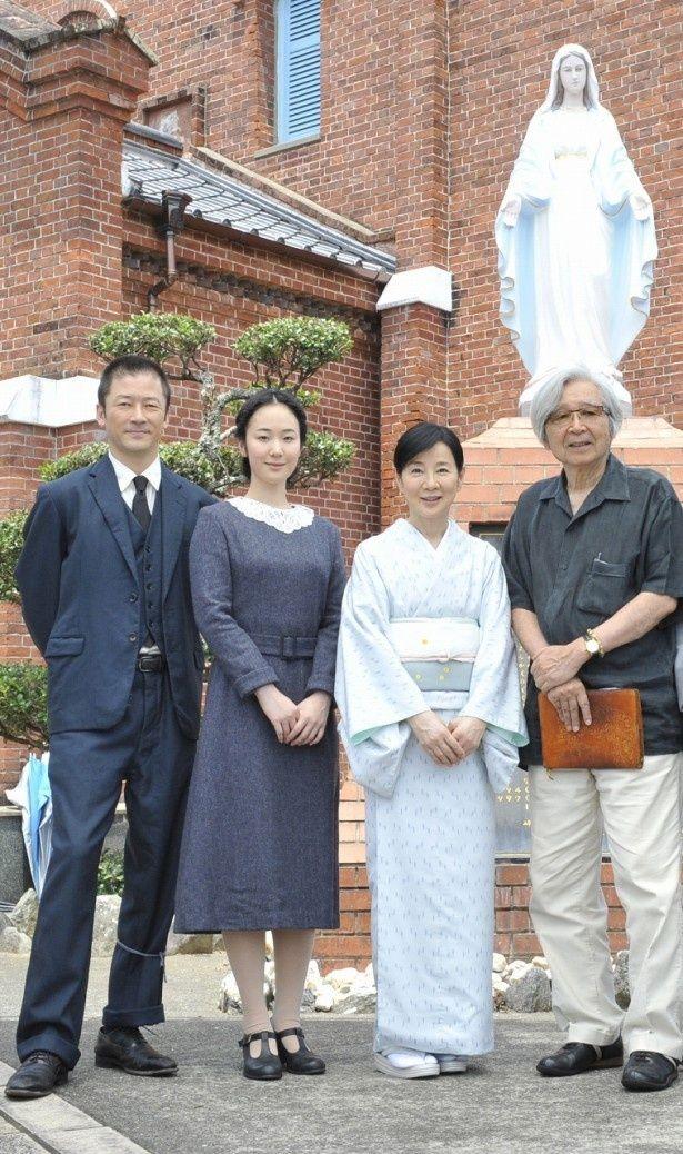 長崎県の教会でロケ撮影が行われた山田洋次監督最新作『母と暮せば』
