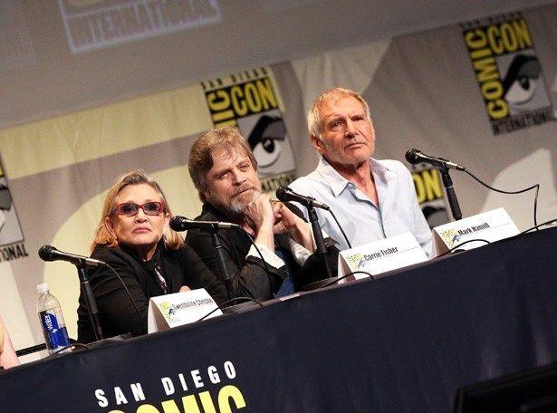 『スター・ウォーズ』オリジナル3部作キャストのハリソン・フォード、マーク・ハミル、キャリー・フィッシャーが再集結!