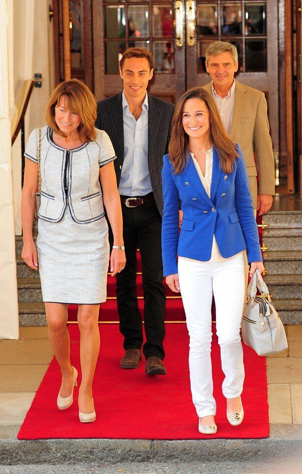 キャサリン妃の家族、ミドルトン家の人々