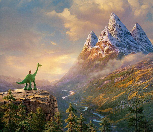 """ディズニー/ピクサーが""""頭の中""""の次に描くのは、恐竜が絶滅しなかった地球!"""