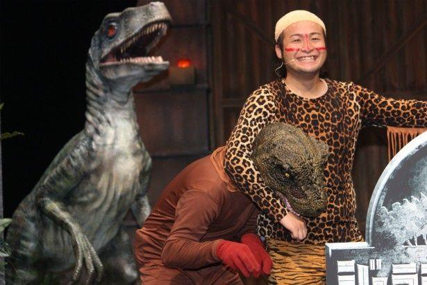 バンビーノ、『ジュラシック・ワールド』の恐竜をニーブラ!
