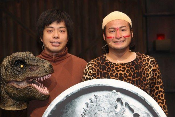 【写真を見る】普段、被り物をしている藤田裕樹が素顔を披露!