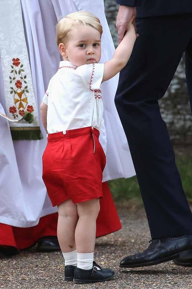 7月22日に2歳の誕生日を迎えるジョージ王子