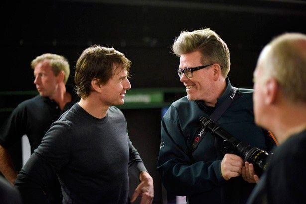 映画製作を通じて、トム・クルーズと絆を育んできたクリストファー・マッカリー監督