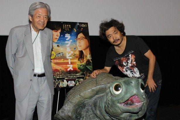 『ラブ&ピース』で園子温監督と田原総一朗がトークショーに登壇