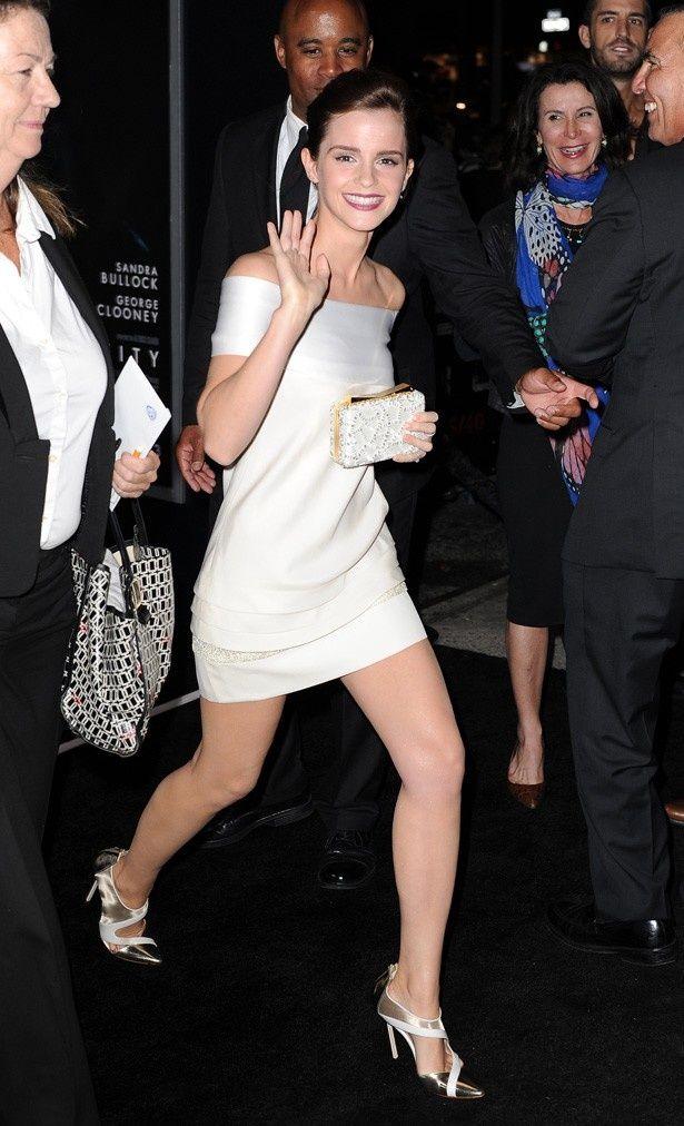 最も人気の足を持つセレブはエマ・ワトソン!