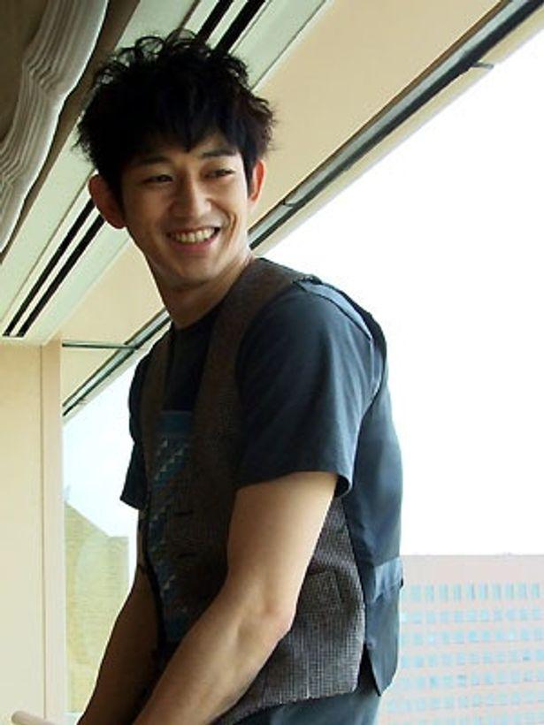 『ガマの油』(6月6日公開)に出演の瑛太