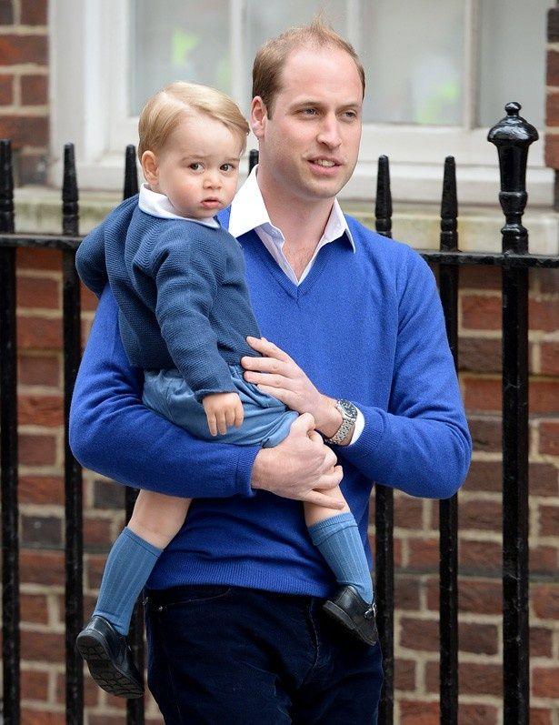 2歳の誕生日を迎えたジョージ王子