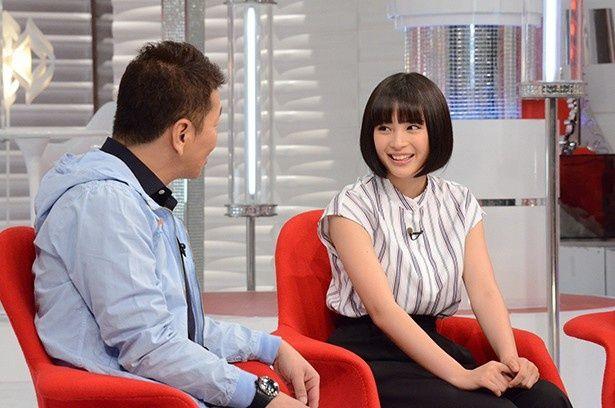 7月26日(日)の「おしゃれイズム」のゲストとして広瀬すずが登場