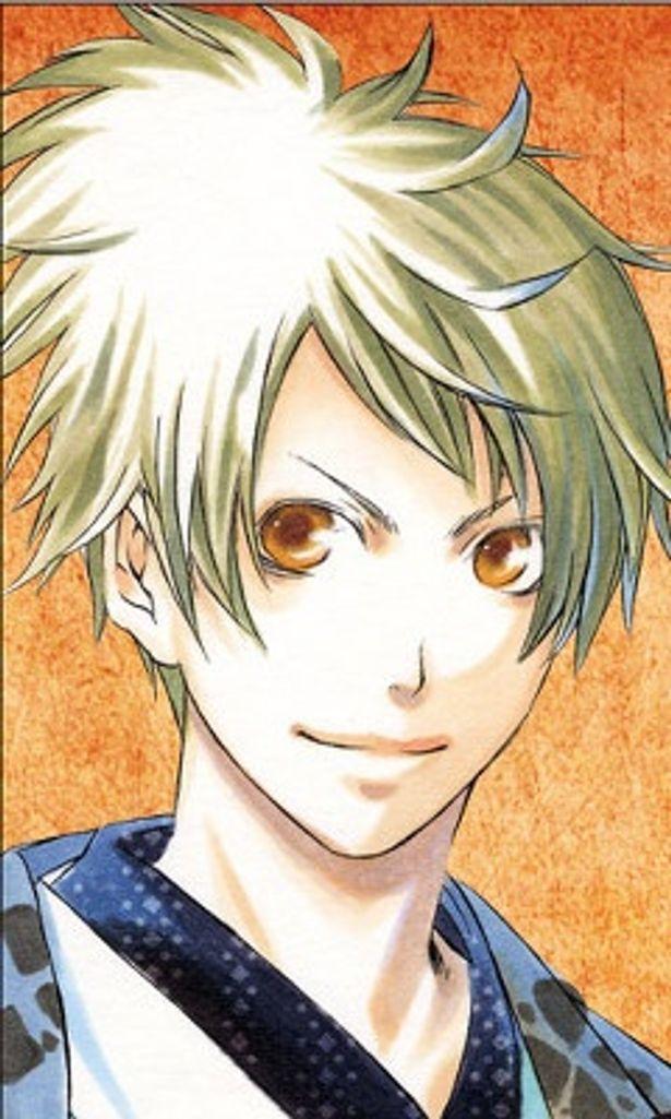 妻夫木聡演じる直江兼続も、コミックでは金髪の美少年に変身