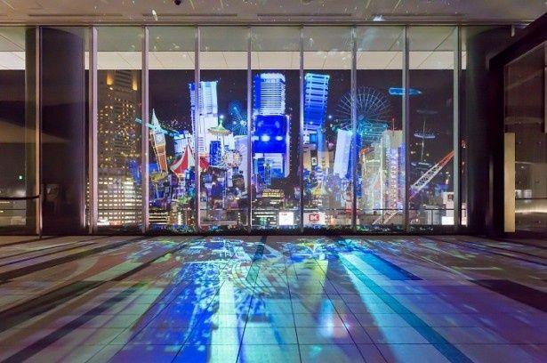 東京・渋谷の夜景をファンタジックな光のアートが彩る