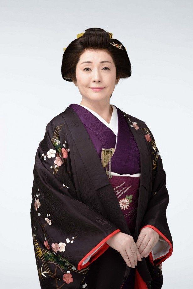 大河ドラマ「花燃ゆ」で都美姫を演じる松坂慶子