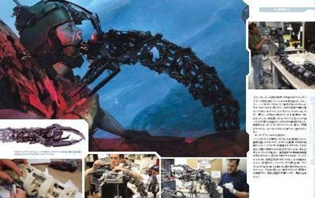 """水中型ターミネーター""""ハイドロボット""""のちょっとグロいコンセプトアート。本編に使われていないカットも満載"""