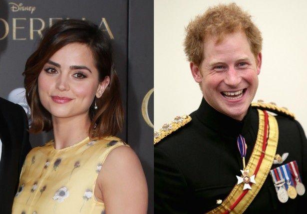 ヘンリー王子と女優のジェナ・コールマンが極秘に愛を育んでいる?