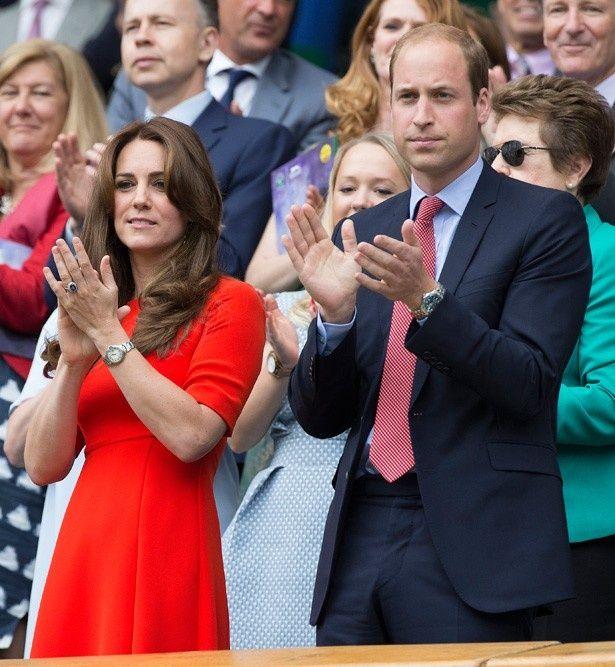 今年のウィンブルドンも夫婦で観戦したテニスファンのウィリアム王子とキャサリン妃
