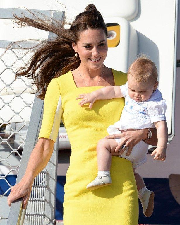 来年はジョージ王子だけでなくシャーロット王女も連れて外遊へ?