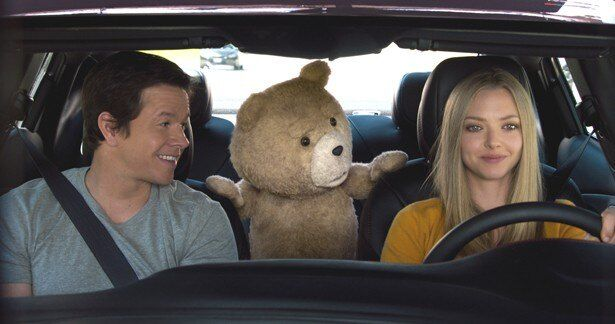 『ジュラシック・ワールド』を抑え、『テッド2』が初登場首位に!