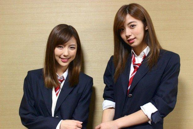 『映画 みんな!エスパーだよ!』の真野恵里菜と池田エライザ