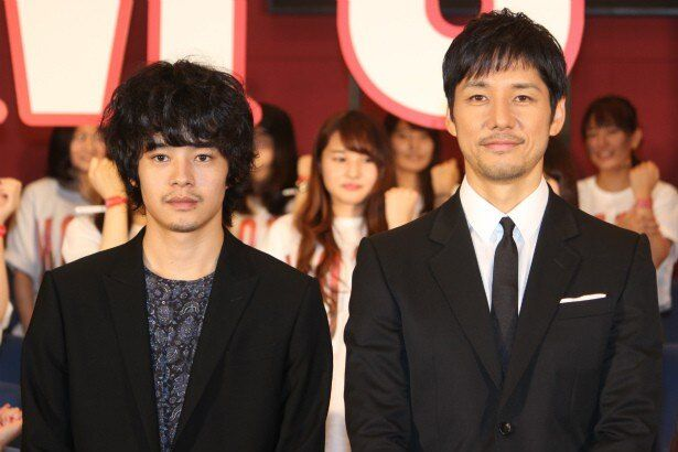 『劇場版MOZU』を語る西島秀俊と池松壮亮