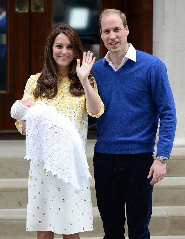 【写真を見る】5月にシャーロット王女を出産したばかりのキャサリン妃