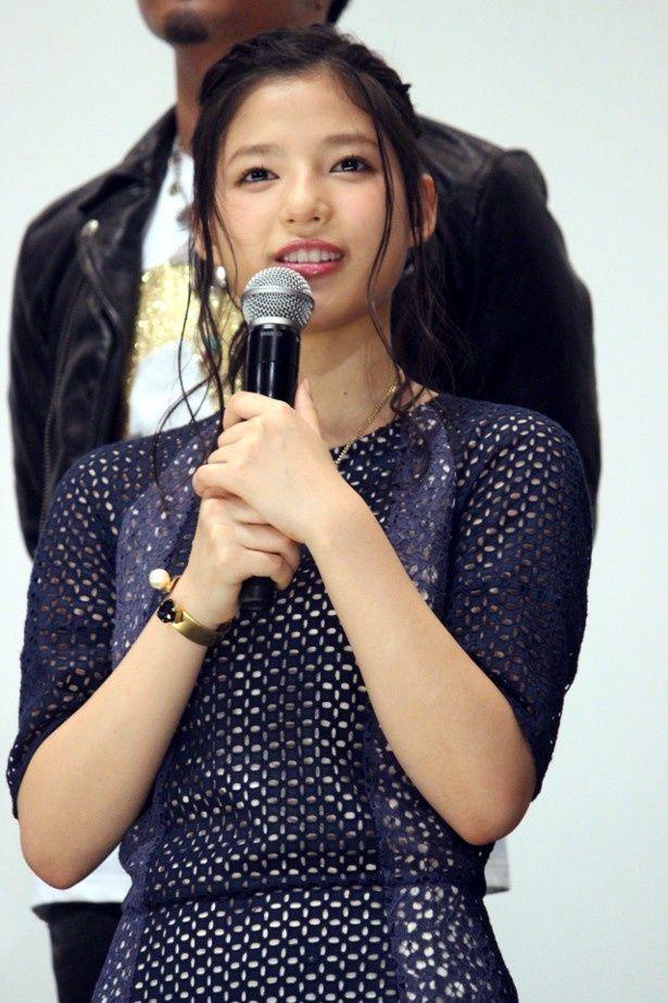 E-girlsの石井杏奈、初主演映画『ガールズ・ステップ』をPR
