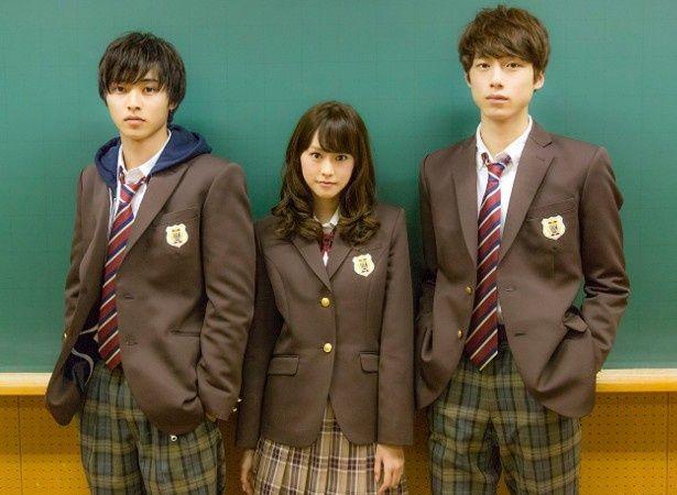 『ヒロイン失格』に出演した桐谷美玲、山崎賢人、坂口健太郎
