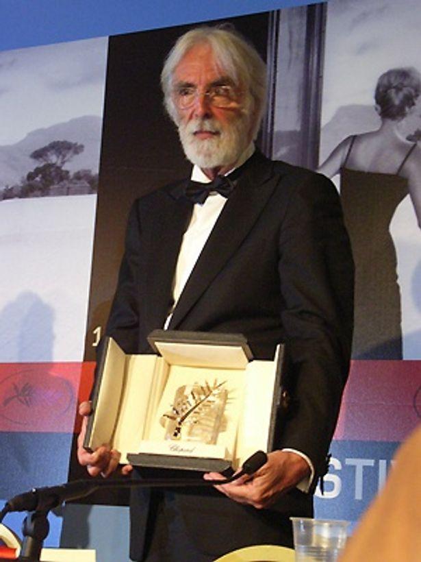 ミヒャエル・ハネケ監督がパルム・ドールを受賞