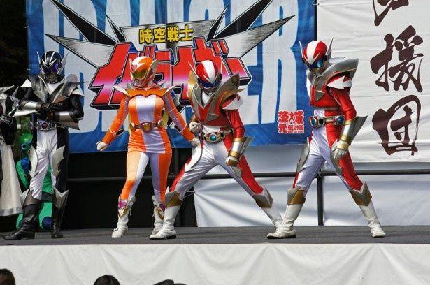 茨城のご当地ヒーローと人気声優たちがチャリティーイベントで共演!