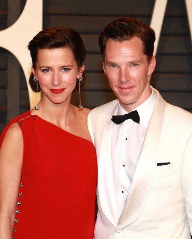 【写真を見る】カンバーバッチと妻のソフィー・ハンター