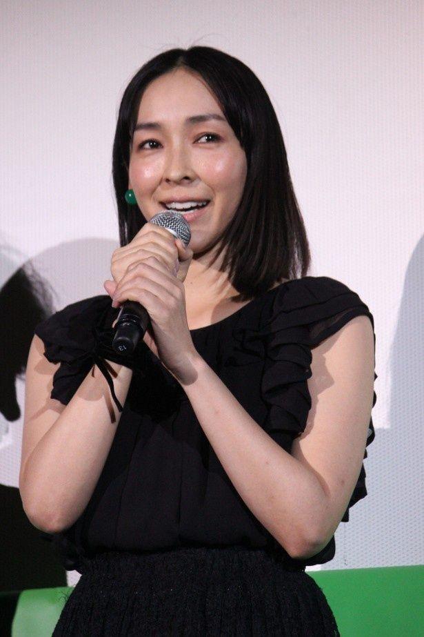 『グラスホッパー』で生田斗真に演技をほめられた麻生久美子