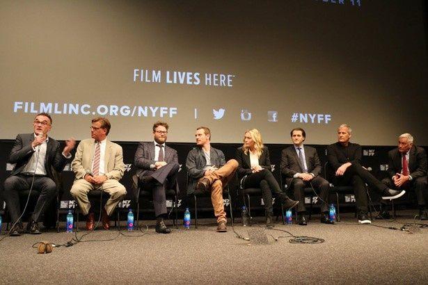 監督、脚本家、キャスト、原作者がニューヨーク映画祭に勢ぞろい