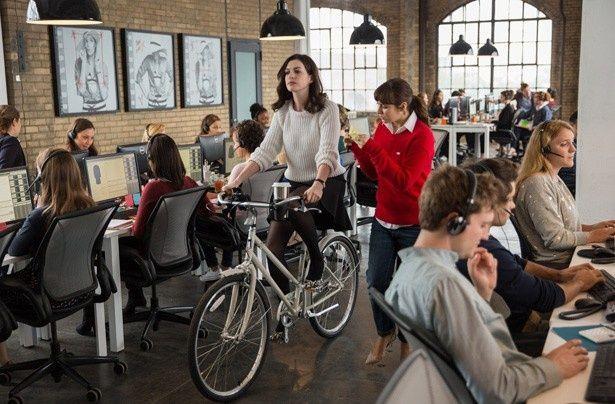 オフィス内で自転車を乗り回すのがニューヨーク流!?