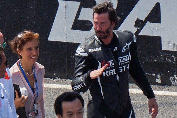鈴鹿8耐では自身がプロデュースしたバイクで鈴鹿サーキットを走った