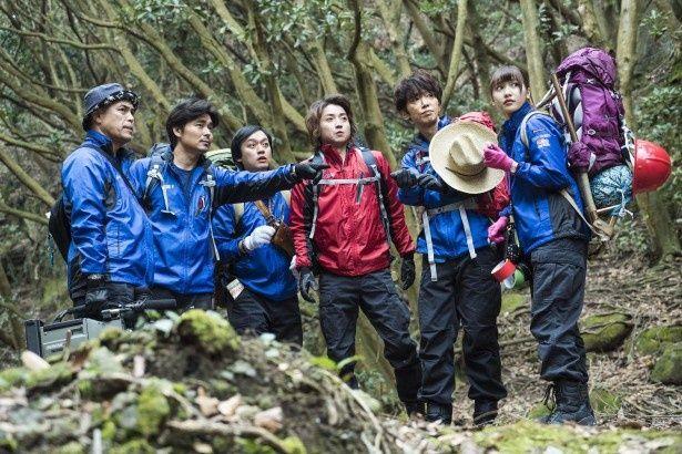 藤原竜也主演映画「探検隊の栄光」のワンシーン。公開は10月16日(金)より