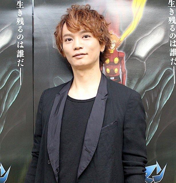 『サイボーグ009VSデビルマン』でデビルマンを演じる浅沼晋太郎