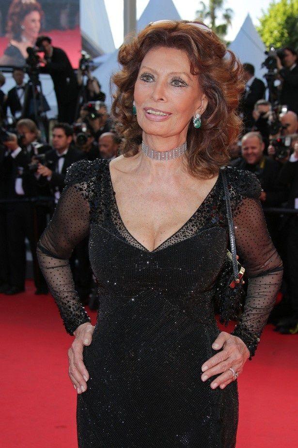 『ひまわり』(70)などで知られる、イタリアを代表する名女優ソフィア・ローレン