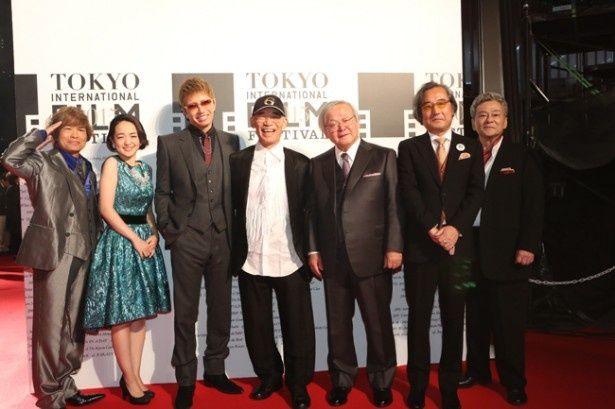 第28回東京国際映画祭のレッドカーペットには富野由悠季ら『ガンダム』関係者が勢ぞろい!